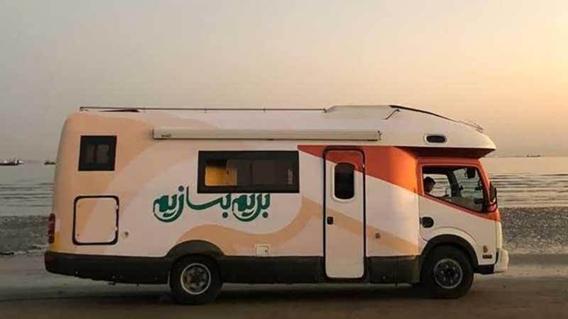 کاروان فصل جدید رئالیتی شوی «بریم بسازیم» به جنوب ایران رسید